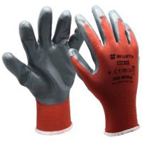 Перчатки RED NITRILE, 0899.403.109 WURTH - 1